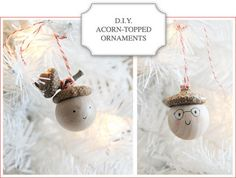 Love these little acorn guys.  I need to try this for this years giveaways.