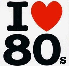 Who loves the 80's?