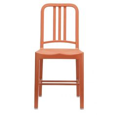 Add a pop of color around your kitchen table with orange seating. | $280