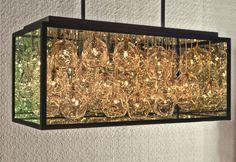 Impressive Blown Glass Chandelier by John Pomp Studios - Pursuitist