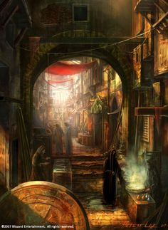 slum market by peterconcept.deviantart.com on @deviantART