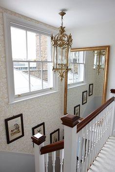 mirror, stairway, london flat, design inspir, flats london