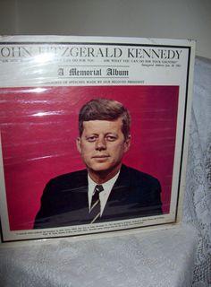 Vintage 1963 John Fitzgerald Kennedy 'A Memorial by SusOriginals