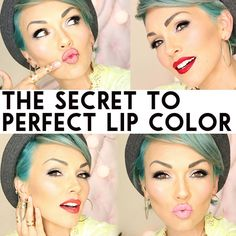 """This might revolution your lip color, lipstick routine! Tips and tricks for all day color and one of the most """"under used"""" lip product that will change your lip color forever!"""
