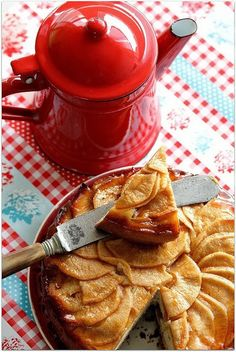 Apple Tarts - This treat looks delicious for the New Year!