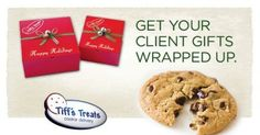 Make someone's morning, day or night this December.  Tiff's Treats in Eastside (E. Campbell @75. Open until 9 PM 7 days a week! www.cookiedelivery.com