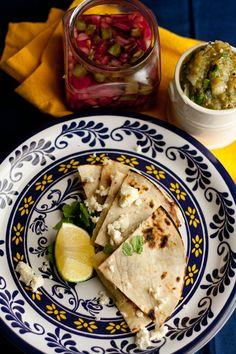 TASTY TRIX: Nopales (Cactus Paddles) Three Ways: Pickled, In Cheesy Quesadillas, & In Spicy Salsa Verde