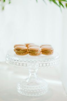 lovely clear glass cake stand