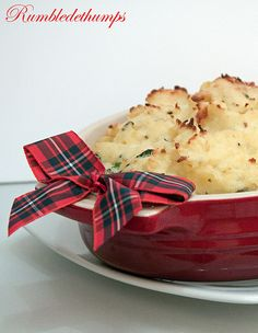 Rumbledethumps is a traditional dish from the Scottish Borders. The main ingredients are potato, cabbage and onion or  swede depending on which recipes you care to look at. Similar in nature to Irish colcannon, and English bubble and squeak.