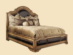 Marge Carson Country Manor Low Bed