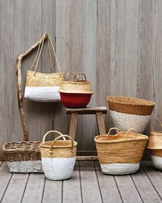 Plasti Dipped baskets