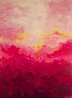 "Saatchi Online Artist: Linda Colletta; Acrylic, 2013, Painting ""Rapture"""