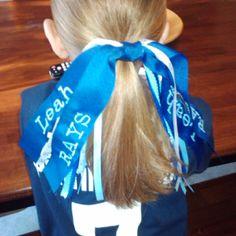 T-ball hair bow