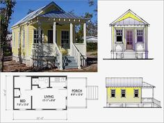 Bahamas cottage ideas on pinterest cottage floor plans for Katrina cottage lowes