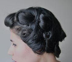 how to: pin curls