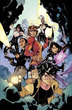 X -Men NOW ~ Terry & Rachel Dodson