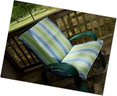 Re-cover patio furniture cushions -- best tut I could find!