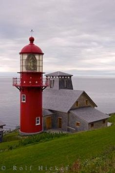 Lighthouse in Quebec