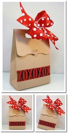 Shoebox Crafts : DIY  Valentine Box Silhouette