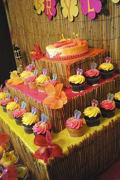 "Photo 2 of 23: Hawaiian Luau / Birthday ""Brylee's Birthday Luau""   Catch My Party"