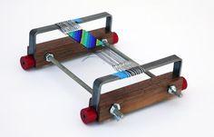 Paper clip loom beading