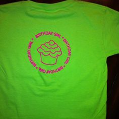 Protege birthday girl shirts