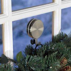 the doors, double door wreaths, magnet wreath, christmas decorations, doubl magnet, wreath hanger, bricks, brass, accessories