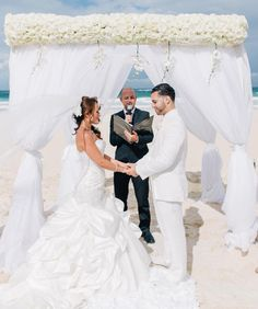 Destination Beach Wedding | Photography: Joseph Lin Photography | On #SMP: http://www.stylemepretty.com/destination-weddings/2013/11/11/punta-cana-wedding-from-weddings-romantique-joseph-lin-photography