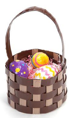 Duck Tape Easter basket
