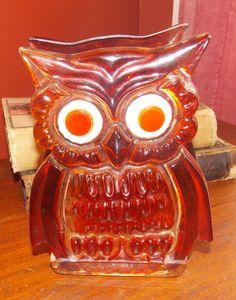 Vintage Acrylic Lucite Owl Napkin Holder by GrandpaCharlies, $8.00