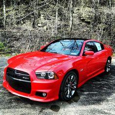 Mean Dodge Charger SRT