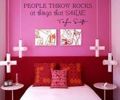 Taylor Swift -  People throw rocks at things that shine