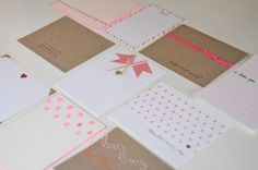 DIY stationery...Valentine's Day