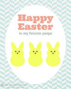 Festive Easter Printables