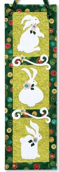 Bunny Trio Pattern by Jeri Kelly at KayeWood.com http://www.kayewood.com/item/Bunny_Trio_Pattern/2965 $8.50