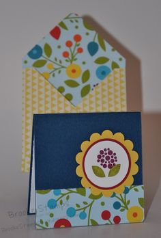 Card:  Bright Blossom  http://brookestamps.stampinup.net