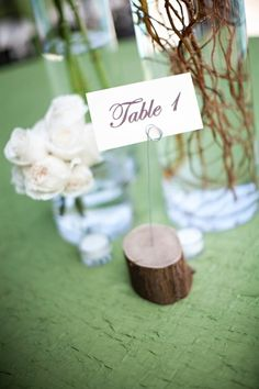 Ideas for Table Names and Numbers , Wedding Reception Photos by J Photography