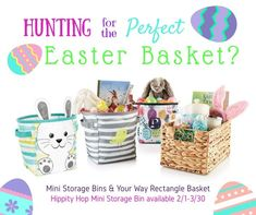 Easter baskets can b
