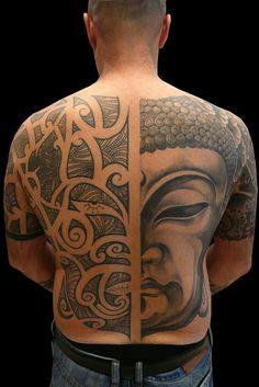 faccia maori/Buddha 2009