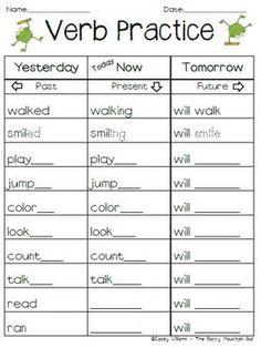 FREE Verb Practice