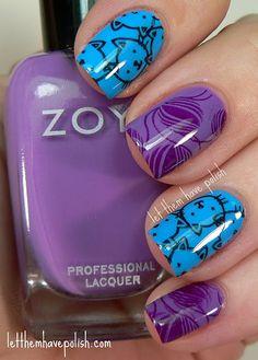Nail Inspiration:  Kitty and Zoya