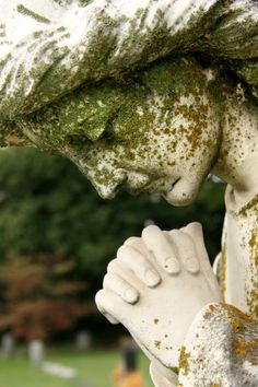 prayer, cemetery statues, cemetery art, cemetery angels, angels among us
