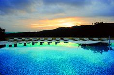 Amazing spa in Tuscany.