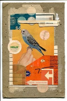 Orange instructions - 2011 by Fred One Litch #collage