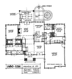 I really love this plan, just wish the laundry was by the master bedroom.