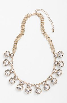 Be glamorous! Crystal Statement Necklace