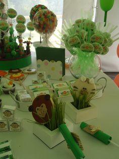 Cookies and sweet jungle. Animalitos con forma de galletitas.. http://antonelladipietro.com.ar/blog/2011/11/animales-de-la-selva/