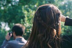 Summer Updos hair tutorials, summer hair, long hair, plait, casual styles, braids, hairstyl, bow, updo
