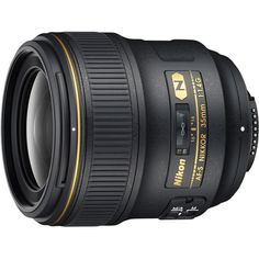 Nikon AF-S NIKKOR 35mm f/1.4G Wide-Angle Lens