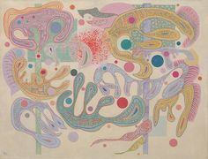 Kandinsky, Wassili - Figures capricieuses - Guggenheim, New York